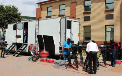 Mobility, Flexibility, Opportunity – What can an outside broadcasting van do for your business?